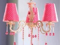 Фото-1 Потолочный светильник (розовый, в белый