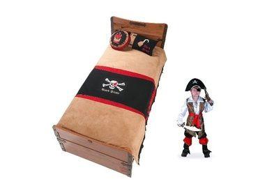 Фото-1 Плед и подушки Black Pirat AKS-4479