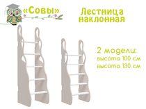 Фото-1 Лестница наклонная Совы Cleveroom