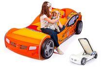 Фото-1 Advesta Кровать машина детская Champion оранж