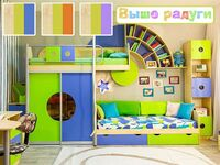 Детская мебель Выше Радуги 38 попугаев