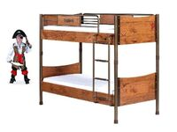2-х ярусная кровать Black Pirat KS-1401