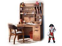 Письменный стол Black Pirat KS-1101(2) с полками