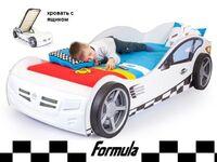 Фото-1 Advesta Кровать машина Formula белая