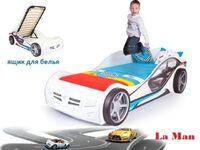 Фото-1 Advesta Детская Кровать машина La-Man