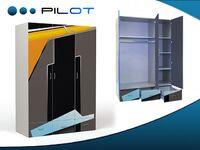 Трёхдверный шкаф Пилот Адвеста (Pilot Advesta)