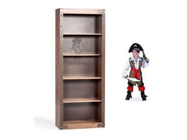 Фото-1 Книжный стеллаж Black Pirat KS-1501