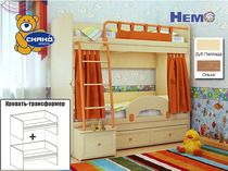 Двухъярусная кровать Немо Сканд