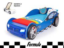 Advesta Кровать машина Formula синяя