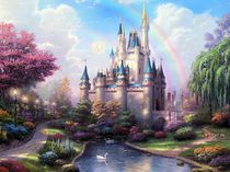 Фото-1 Фотообои Сказочный замок
