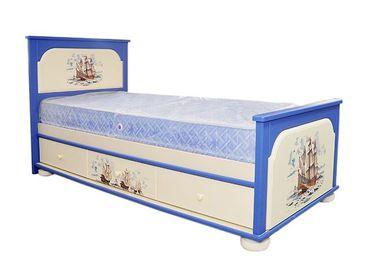 Фото-1 Кровать для мальчика Капитан