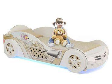 Фото-1 Кровать-машина для девочки Мишки Адвеста (Bears Advesta)