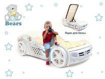 Кровать-машина Мишки Адвеста (Bears Advesta)