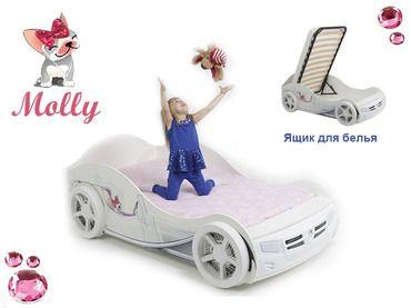 Фото-1 Кровать-машина Молли Адвеста (Molly Advesta)