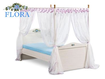 Фото-1 Детская кровать с москитной сеткой Flora Cilek SL SLF-1308