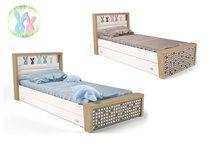 Фото-1 Кровать Зайцы MIX №3 с выдвижным ящиком