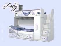 Кровать Леди-4 + Леди-3 Сканд