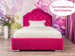 Фото-4 Розовая детская кровать с мягкой спинкой Art-G