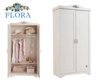 Фото-1 Шкаф 2-х дверный Classic SL Flora Cilek SLF-1004