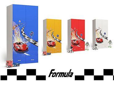 Фото-1 Шкаф 2Д Formula