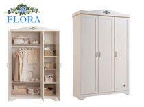 Фото-1 Шкаф 3-х дверный Classic SL Flora Cilek SLF-1003