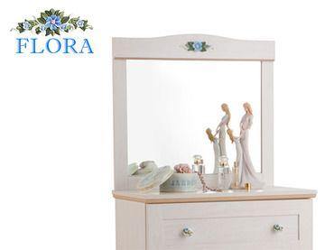 Фото-1 Зеркало Classic SL Flora Cilek SLF-1802